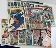 Groo The Wanderer 17 Marvel Comic Book Lot Collection 1 2 15 19 44/45 47 51-55