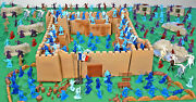 Sup Deluxe French Foreign Legion Playset - 54mm-60mm Plastic Toy Soldiers
