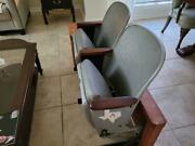 Astrodome Loge Chairs Seat 1 And 2 Row A Wrapped In Oak Perfect Untouched