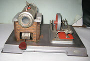 Wilesco Live Steam Engine West Germany All Brass And Tinplate Steel Chrome