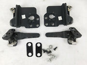 2005-2014 Ford Mustang Convertible Top Locking Latches Hinges Bow Clamp Set Oem