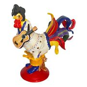 Poultry In Motion King Of Poultry Elvis Rooster By Sharon Neuhaus Htf