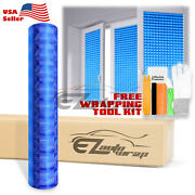 Intense Blue Cat Eye Frosted Film Glass Home Bathroom Window Security Privacy