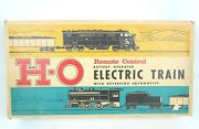Vintage Marx Ho Battery Operated Electric Train With Reversing Locomotive
