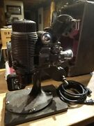Bell And Howell Antique 16 Mm Movie Projector Filmo Master Works