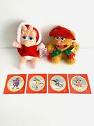 Vintage Mcdonalds Muppet's Christmas Carol Miss Piggy And Fozzie Bear And Ornaments