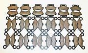 18 Sets 1993 1994 1995 1996 1997 Polaris 250 Trail Boss Front And Rear Brake Pads