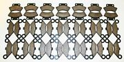 21 Sets 1988 1989 1990 Polaris 250 Trail Boss 2x4 Front And Rear Brake Pads