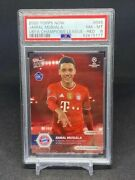 2020 Topps Now Jamal Musiala Red Parallel Rookie /99 Rc Bayern 45 Psa 8