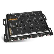 Prv Audio Ex4.6 Pro 4 Way Electronic Crossover 4 In 6 Rca Output 9v Rms Car