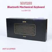 Lofree Bluetooth Wireless Mechanical Keyboard Eh112s Windows,ios, Android In Box