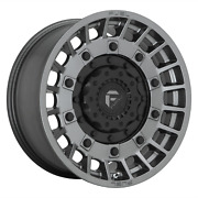20 Inch 8x180 4 Wheels Rims 20x10 -18mm Matte Anthracite And Black Fuel 1pc