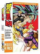Dragon Ball Z - Movie Pack Collection Two Movies 6-9 Box Set Sean Dvd Discs 4