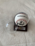 Hoshino Autograph Ball 2003 Hanshin Tigers Victory Year Not For Sale Byems K1166