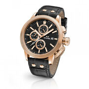 New Tw Steel Ceo Adesso Ce7011 Rose And Black Chronograph 45mm