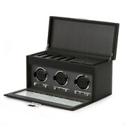 New Wolf Viceroy Triple Winder For 3 Watches With Storage