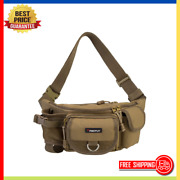 Fishing Bag Portable Tackle Storage Outdoor Multiple Waist Bag Fanny Pack New