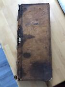 Antique General Store Ledger 1850andrsquos - Birth Death Marriage Records