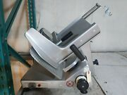 Used Bizerba Se12 Manual Commercial Deli Meat Slicer - With Toggle Switch
