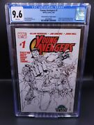 Young Avengers 1 Cgc 9.6 Wizard World Variant 1st Appearance Kate Bishop Disney+