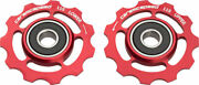 New Ceramicspeed Shimano 11-speed Pulley Wheels Alloy Red
