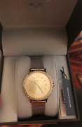 Vince Camuto Vc/5351chtt Ladiesand039 Crystal Accented Two Tone Watch