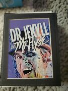Antiqur Little Leather Library Book Dr Jekyll And Mr Hyde Robert Louis Stevenson