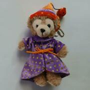 Disney Duffy '07 Halloween Badge Plush Toy Shipped From Japan