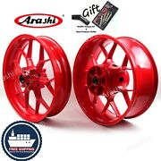 Front Rear Wheel Rim For Honda Cbr1000rr 2008 - 2016 2013(30-35day Delivery)red