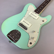 Fender Limited Edition Jazz-tele Rosewood Surf Green Electric Guitar