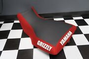Yamaha Grizzly 660 Red Sides Logo Seat Cover Yz88kya88