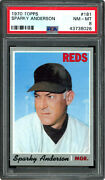 1970 Topps 181 Sparky Anderson Psa 8 43738028