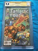 Fantastic Four V2 1 -marvel - Cgc Ss 9.8 Signed By Lee, Williams, Sinclair Tony