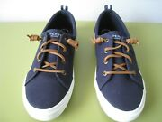 New Womenand039s Perry Pier Wave Ltt Canvas Sneaker Size 9