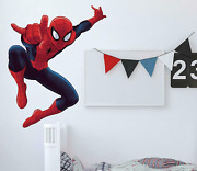 """53"""" Ultimate Spiderman Peel And Stick Giant Wall Decals Boys Room Marvel Stickers"""