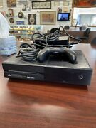 Microsoft Xbox One Day One Edition 500gb Black Console W/ Controller And Cords 23