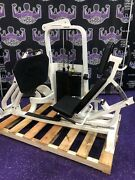 Hoist Seated Leg Press W/450 Lb. Stack - Buyer Pays Shipping