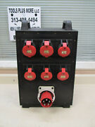 Gifas Electric 7300 Series Hard Rubber Power Distribution Box Used Free Shipping