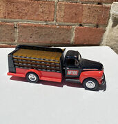 First Gear 1951 Ford F6 Bottlers Nitro Cola Truck Diecast Metal 134 Scale Gl99