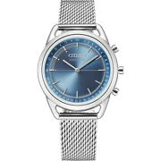 Citizen Connected Womenand039s Silver-tone Milanese Band 36mm Watch Hx0000-59l