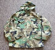 M-65 Military Field Jacket Size Large Regular Camouflage By Golden Mfg. - Nice