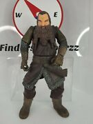 2003 The Lord Of The Rings Lotr - Gimli Action Figure No Axe - Toy Biz Marvel