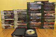 Huge Lot Of 89 Original Xbox And 360 Kinect Game Collection No Dups Mint Shape