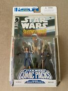 Star Wars 2008 Leia Organa And Xizor-shadows Of The Empire Comic Pack