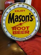 Masons Rootbeer Advertising Thermometer