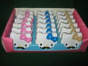 18hello Kitty Sweet Staches Metal Tins New .7oz @ Candy-sealed Case