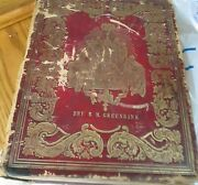 Antique 1851 Leather Bound Holy Bible- Published By John Perry Philadeliphia