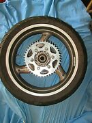 Ducati 5 1/2 X 17 Grey Rear Wheel And Road Smart Tire Monster St2 St4 St4s St3