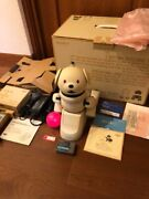 Sony Aibo Ers-311b Dog Robot Memory Stick Battery Charging Stand Manual Box