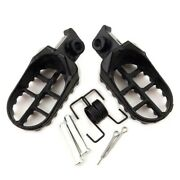 Brake Pedals Motorcycle Footrest Aluminum Pads Racing Parts Replacement